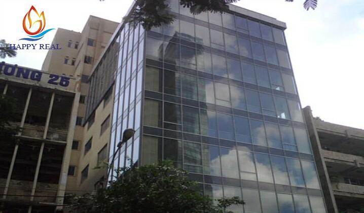 Nhìn từ bên ngoài toàn bộ tòa nhà