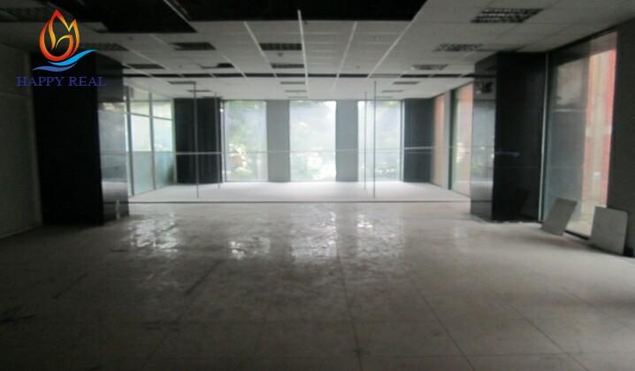 Diện tích trống cho thuê tại tòa nhà