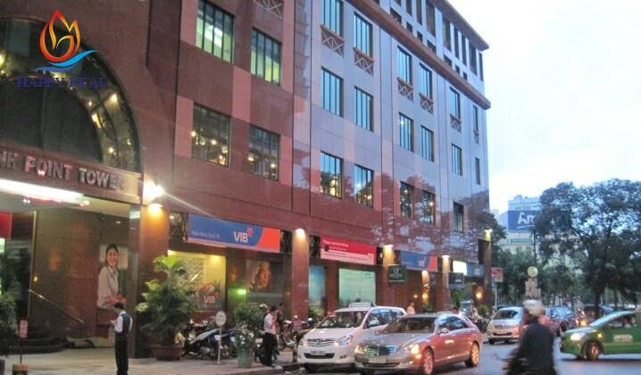 Văn phòng cho thuê quận 1 Mê Linh Point Tower có vị trí thuận lợi