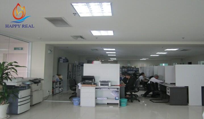 Diện tích còn trống của PnCo building